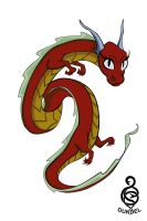 Chinese Dragon by DundelTA