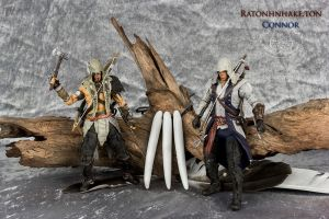 Raton/Connor action figure by shatinn