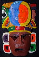 Mayan Mask by dx