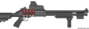 compact 870 tactical by raminhlover