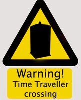 Time traveller crossing by Oiracul