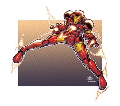 Ironman by AlonsoEspinoza