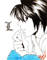 L Lawliet by hesxmyxEDO
