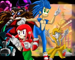 Sonic Heroes  Adventure Equestria Girls by UrhangrZerg