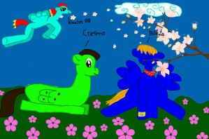 Bliknia, Cresmo y Knucles 08  rule 63 by bliknia