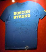Boston Strong T-shirt by TheOnyxSwami