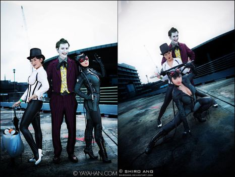 Ruling the Town - Gotham Villains by yayacosplay