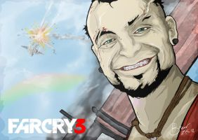 FARCRY 3 Vaas Montenegro by BR3AR