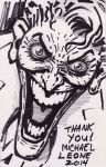 Joker thank you sketch 12-18-2014 by myconius