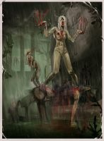 Hard Infected Rain by LilithTE