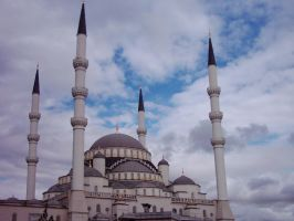 kocatepe mosque by ShadowDuet