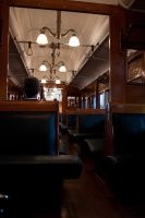 Old Steam Train Interior 1 by CNStock
