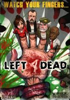 LEFT 4 DEAD fan art by Darkdux