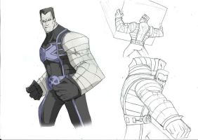 Colossus sketch by Sabrerine911
