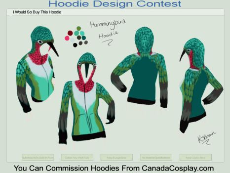 'I'd buy this hoodie' Entry by MzJekyl