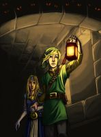 Fanart 'A Link to the past' by MonsieurTo