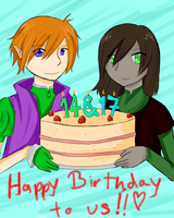 RtP: DOUBLE BIRTHDAY YEAH by TheMangaWitch