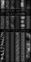 Black white textures by DiZa-74