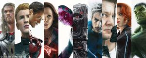 Avengers - Age of Ultron drawings by Quelchii