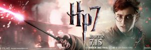 HP7 part 2 - banner - Harry by AndrewSS7