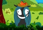 Queen Chrysalis acts like Twilight (Coloured) by Chrisje1988