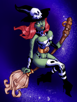 Randy Green's Witchie Boo by sketchandthecity