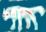 ghost wolf terror by laughingchloe