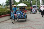 Trishaw for Tourists by nosugarjustanger