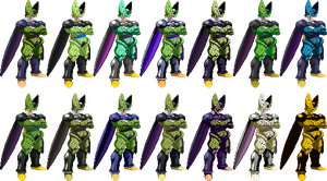 Cell Z2 battle collection by Balthazar321