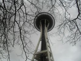 Space Needle .2 by indie-scarf