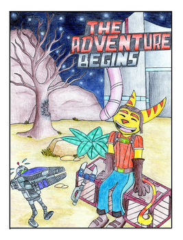 KH Ratchet and Clank Page 1 by RavinTheVampire