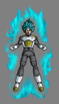 Goku Super Saiyan God Super Saiyan by hsvhrt