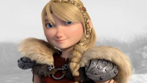 HTTYD 2 astrid by lupoxvector