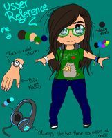 .::Chibi Reference::. Usser! Me :3 by Nite3007