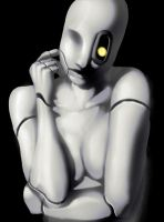 Glados by Thecosmicgoose