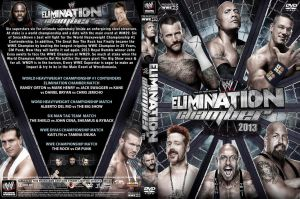 WWE Elimination Chamber 2013 DVD Cover V1 by Chirantha