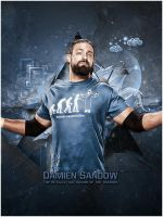 Damien Sandow by mahmoudmontaser