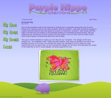 Purple Hippo Creations by doubleoseven