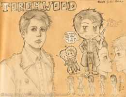 Jack and the Torchwood team. by VincentChan