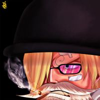 SANJI by THE-PHOENIIX