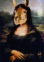 The Mona Llama by rclarkjnr
