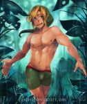 A Link In The Forest by Jasdavi