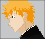 Ichigo's Stare by MD3-Designs