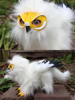 Eggy the Owl Griffin by Creature-Cave