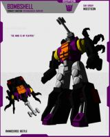 INSECTICON BOMBSHELL by F-for-feasant-design