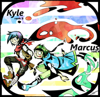 pc - Kyle and Marcus by Cheapcookie
