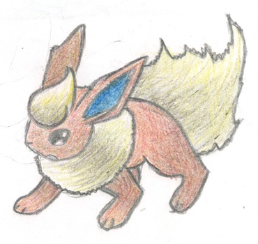 Flareon by fatpenguinsheep