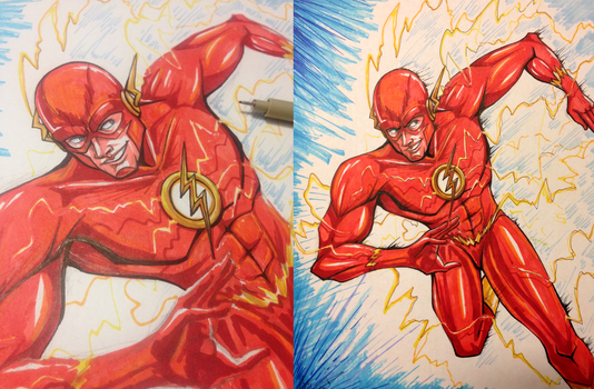 The Flash by WforWumbo