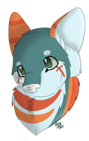 Cross Headshot (10/12) by CollectionOfWhiskers