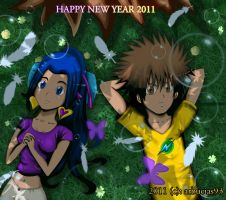Happy New Year 2011 by Shinobi-Gambu